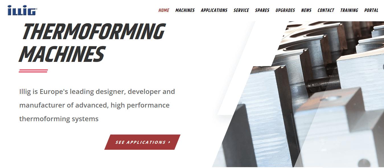 Illig UK new website